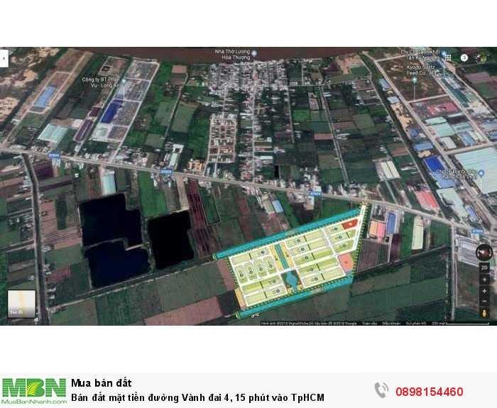 Bán đất mặt tiền đường Vành đai 4, 15 phút vào TpHCM