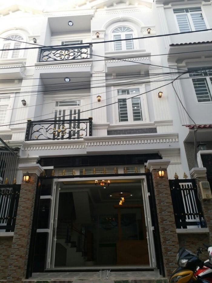 Nhà 2 Lầu, 5x12m, Hẻm Xe Hơi 2177 Huỳnh Tấn Phát, Thị Trấn Nhà Bè
