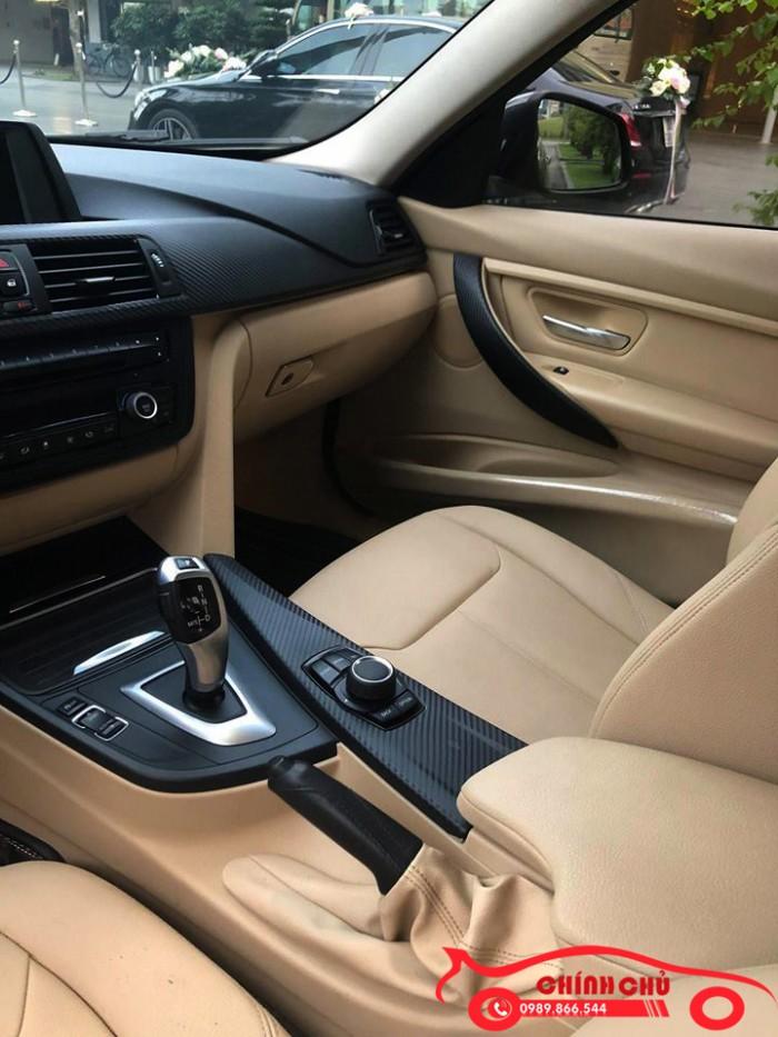 Chính chủ bán BMW 320i 2.0L, model 2014 màu nòng súng, giá hơn 800 triệu