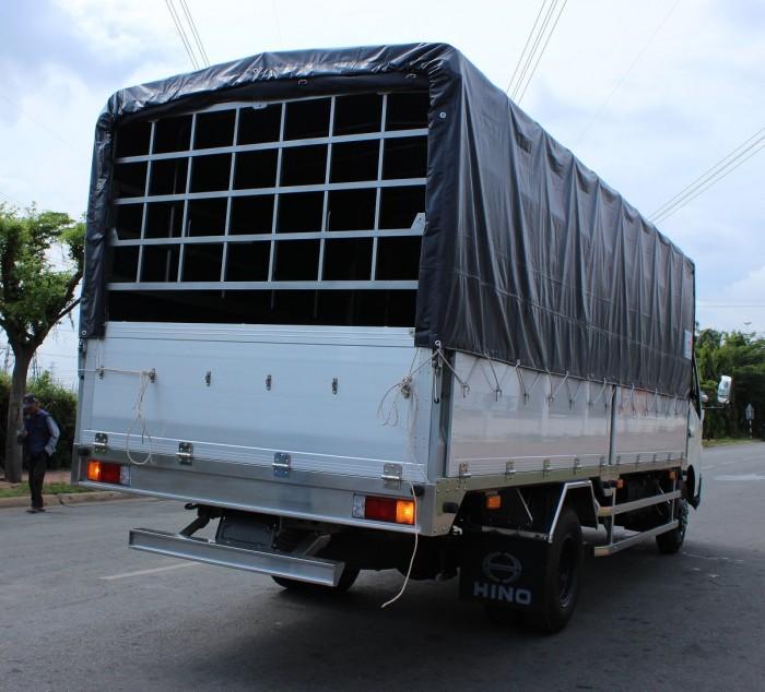 Giá xe tải Hino 3.5 tấn thùng mui bạt, trả trước 100 triệu giao xe trong ngày - Gọi 0978015468 (MrGiang 24/24)