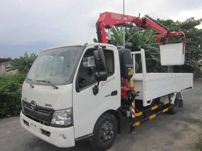 Xe tải Hino XZU720L gắn cẩu Unic V290 3 tấn - Gọi 0978015468 (MrGiang 24/24)