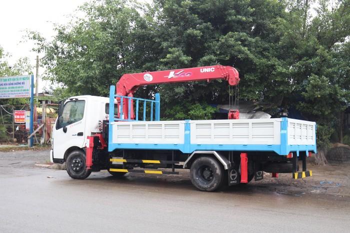 Bán xe tải Hino XZU720L gắn cẩu Unic V290 3 tấn - Gọi 0978015468 (MrGiang 24/24)
