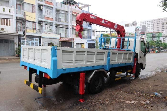 Khuyến mãi mua xe tải Hino XZU720L gắn cẩu Unic V290 3 tấn - Gọi 0978015468 (MrGiang 24/24)