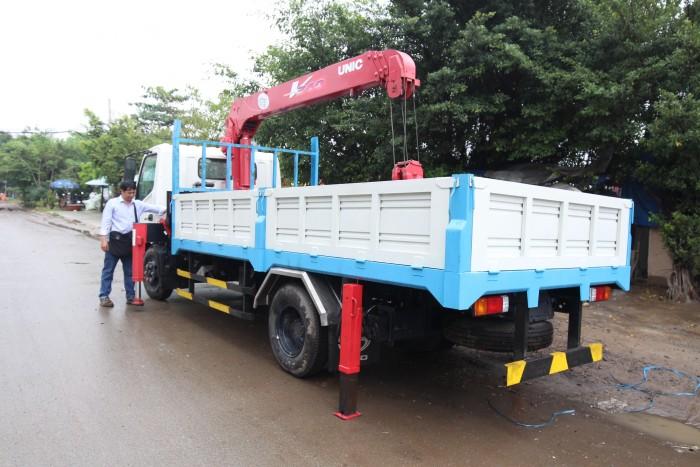 Xe tải Hino XZU730L 5 tấn gắn cẩu UR-V345 3 tấn 5 khúc - Gọi 0978015468 (MrGiang 24/24)