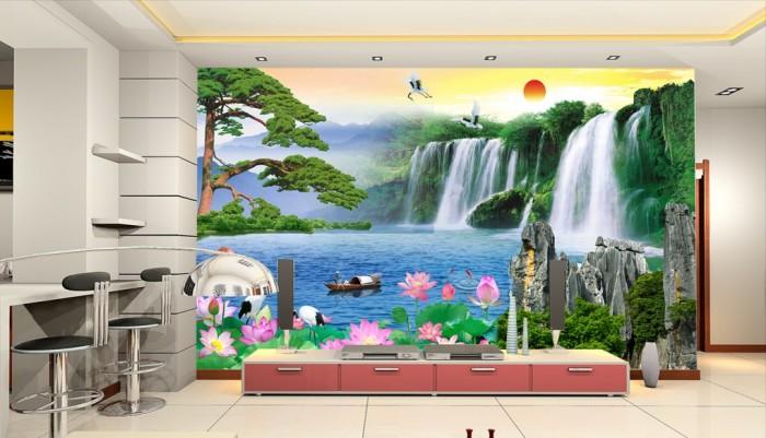 Tranh 3d trang trí nội thất cao cấp0