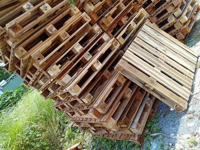 pallet gỗ  1100x1000x150mm4