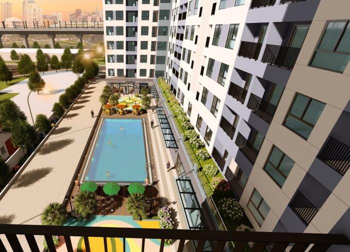 Sở hữu căn hộ Bcons Làng Đại Học 41m2 ngay bến xe Miền Đông mới, ga Metro số 1