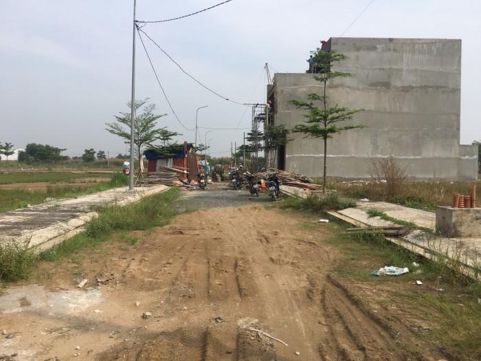 Bán lô đất thổ cư đường An Hạ, Bình chánh,diện tích 80m2