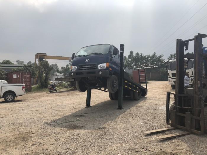 Xe nâng đầu chở máy Huyndai Đồng Vàng  Nhập Khẩu