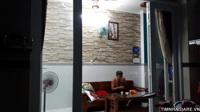 Bán nhà hẻm 2174 Huỳnh Tấn Phát, Nhà Bè, TP.HCM. DT 4.5m x 10m, 1 trệt 1 lầu, 3PN