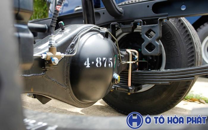 Xe Jac x5 máy dầu hiện tại được đưa ra thị trường với 3 phân khúc 990kg 1250kg 1490kg 15