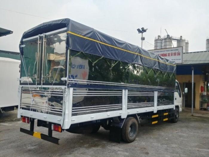 Xe tải Isuzu Vĩnh Phát tải trọng 1.9 tấn thùng dài 6.3 mét tại Hà Nội