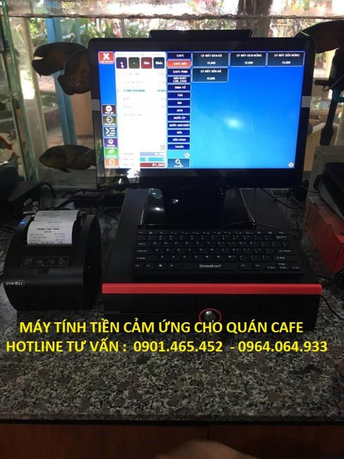 Bán Máy tính tiền cảm ứng cho Quán Cafe tại Phú Quốc3