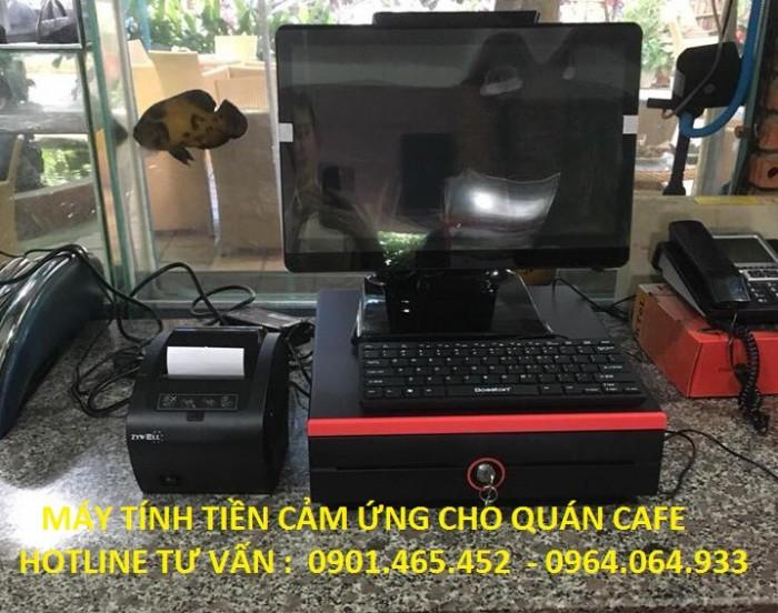 Bán Máy tính tiền cảm ứng cho Quán Cafe tại Phú Quốc2