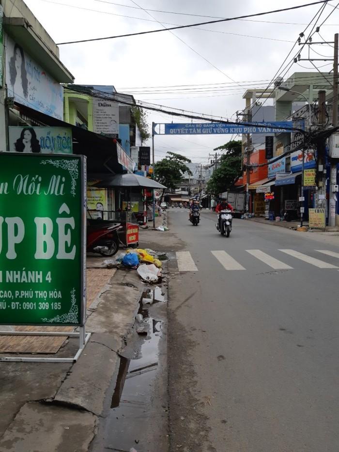 Cho thuê mặt bằng đường Văn Cao quận Tân Phú 4,5x10m gần ngã tư Vườn Lài