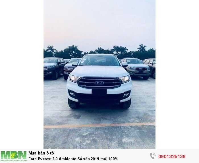 Ford Everest 2.0 Ambiente Số sàn 2019 mới 100%