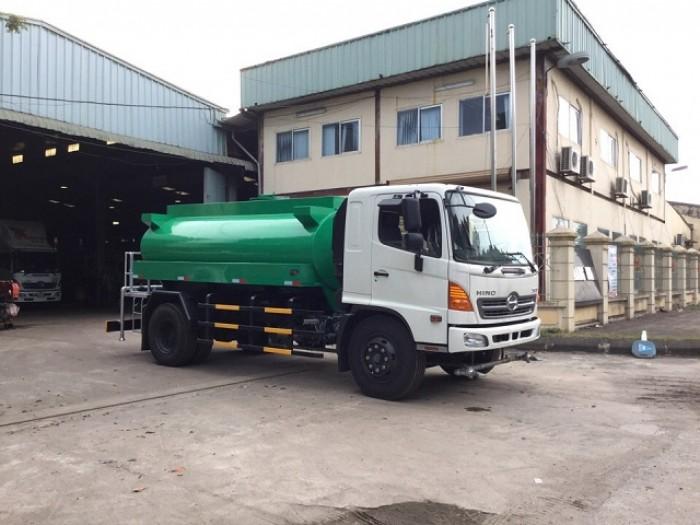 Xe bồn chở nước Hino FG 8 khối