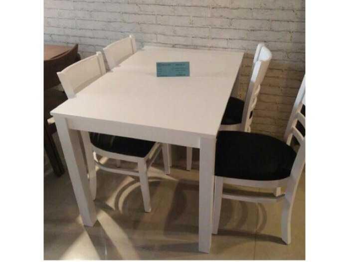 Bàn ghế ăn Cabin 4 ghế