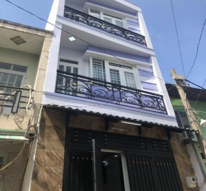 Nhà Đúc 3 Lầu Ngã 4 Gò Mây Nguyễn Thị Tú Mt 7M Kd