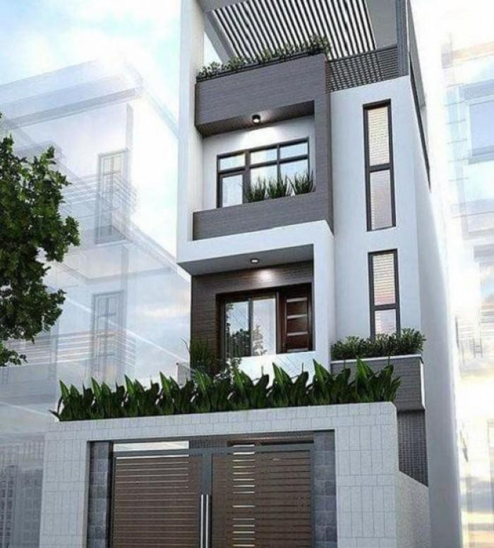 Nhà phố xây mới Quang Trung MT 3.4M 34m2-5T-4PN