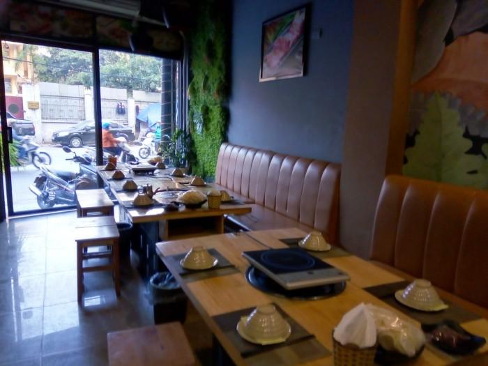 Sang nhượng nhà hàng Lẩu 50 m2 x 3 tầng mặt tiền 3,5 m Phố Ngô Thì Nhậm Q.Hà Đông HN