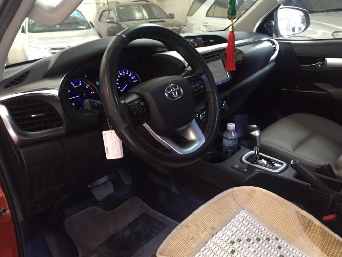 Bán xe Hilux 2.8 máy dầu số tự động sx 2016