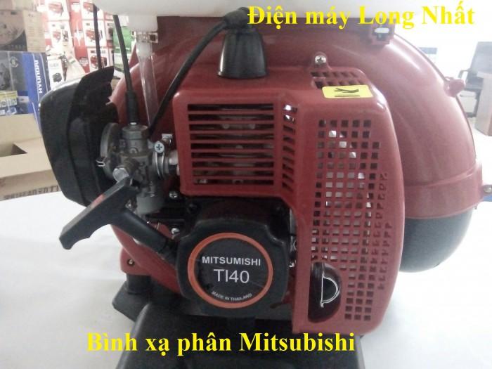 Máy phun vôi bột , thuốc trừ sâu Mitsubishi1