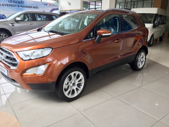 Mua xe Ford giá rẻ ở đâu tại Sài Gòn. Ford Ecosport Titanium giảm giá 0