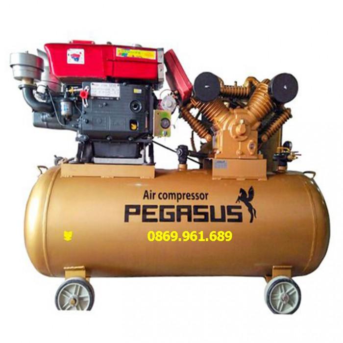 Máy nén khí chạy bằng dầu diesel tm-w-2.0/8-500l
