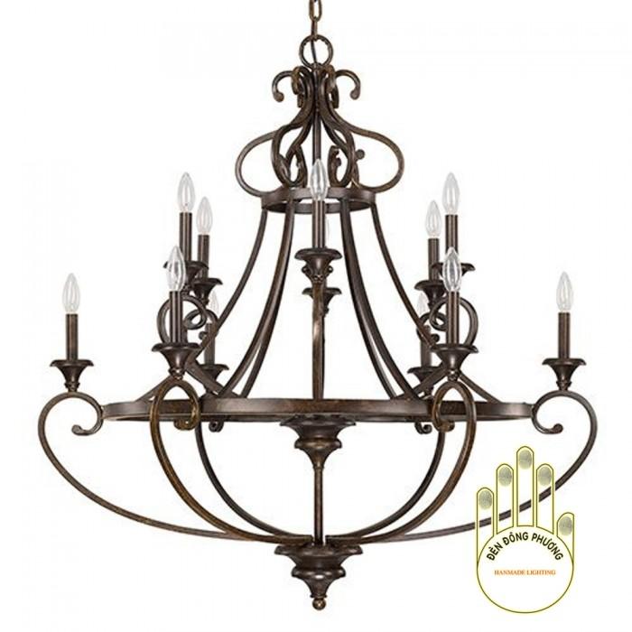 Đèn chùm sắt trang trí MS011280