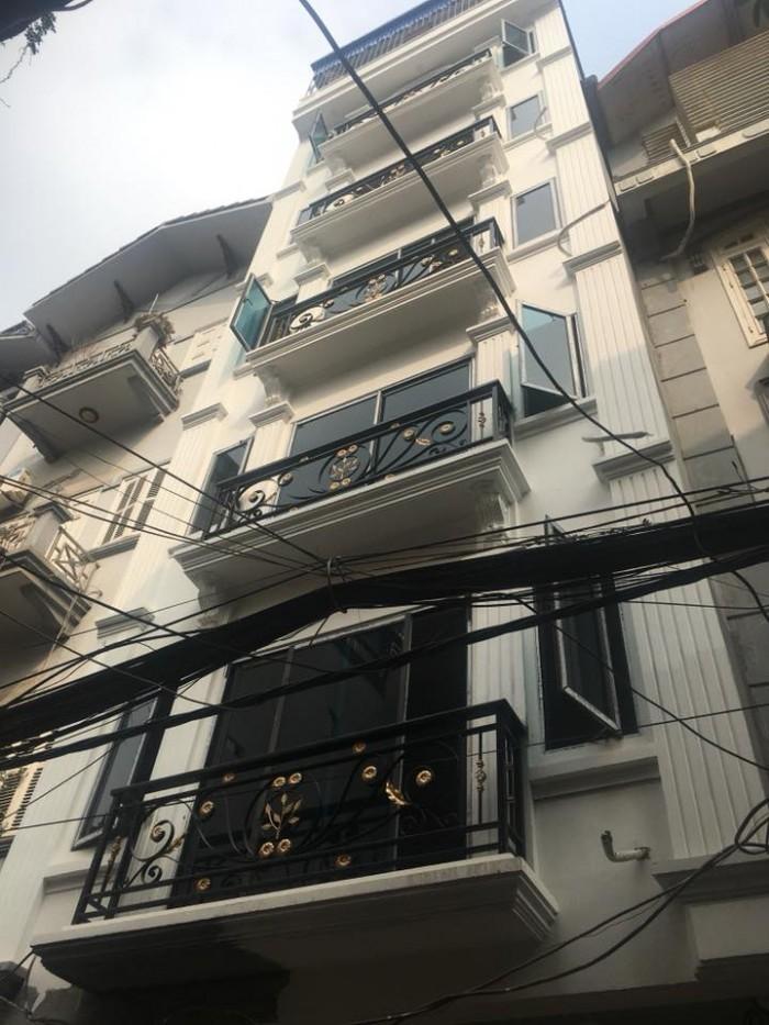 Nhà mới cực đẹp MẶT PHỐ P. Nghĩa Đô, Cầu Giấy 7T thang máy, 55m2 mặt tiền 5m xíu