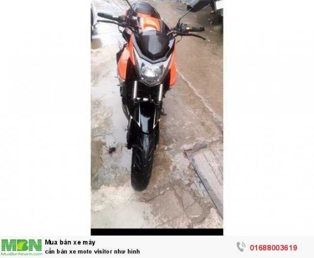 Cần bán xe moto visitor như hình