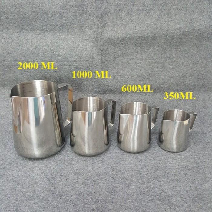 Ca Inox dung tích 350ml - 600ml - 1 lít - 2 lít6