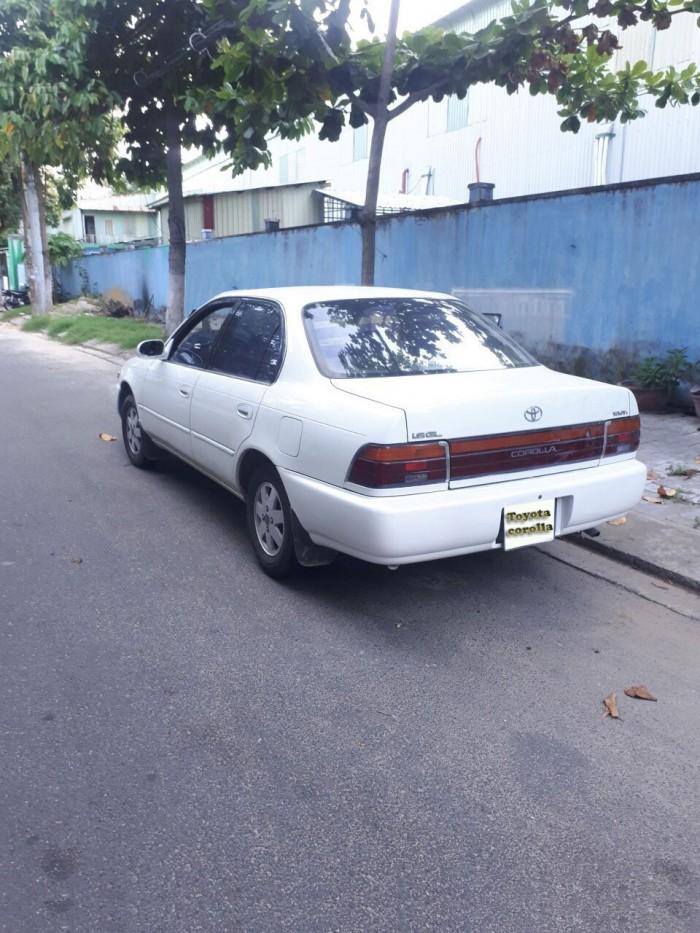 Bán xe Toyota Corolla 1996 đăng ký 1997
