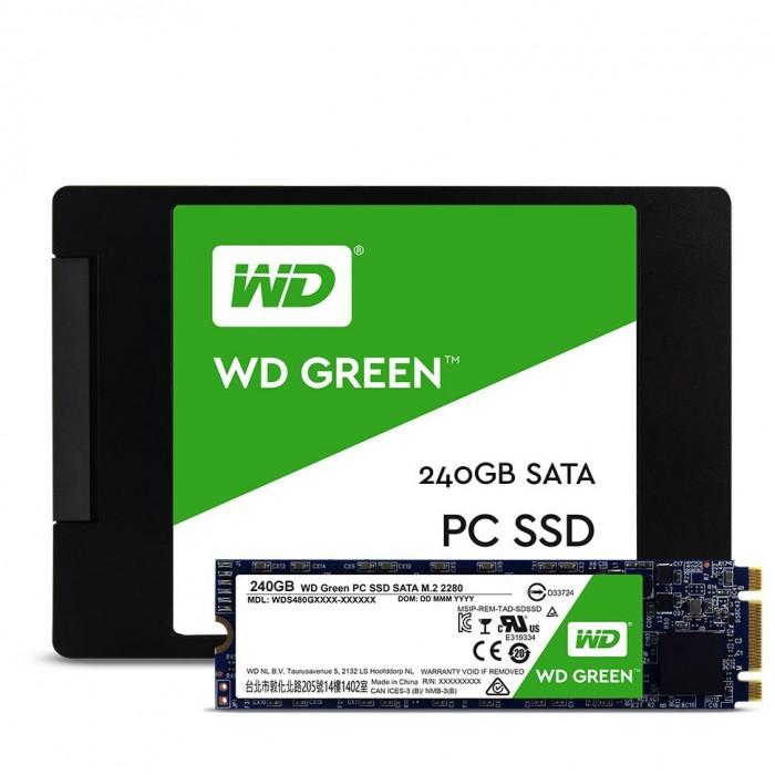 Ổ cứng SSDWestern Green240GbM2.2280 chính hãng0