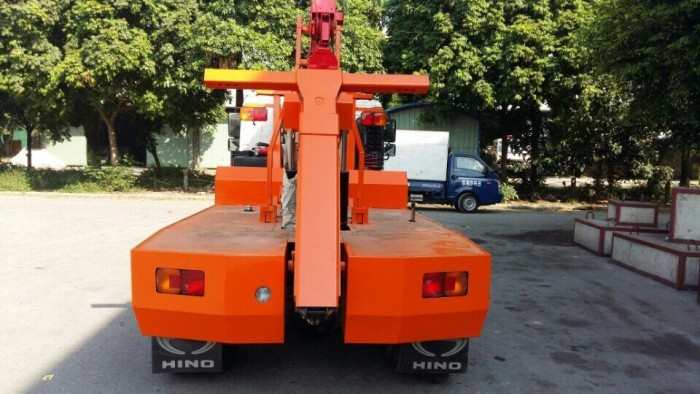Xe cứu hộ giao thông Hino FC gắn cẩu Unic V340 3 tấn 3