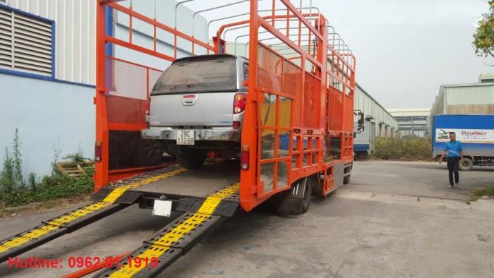 Xe tải Hino FC chuyên chở xe máy, xe ô tô 3
