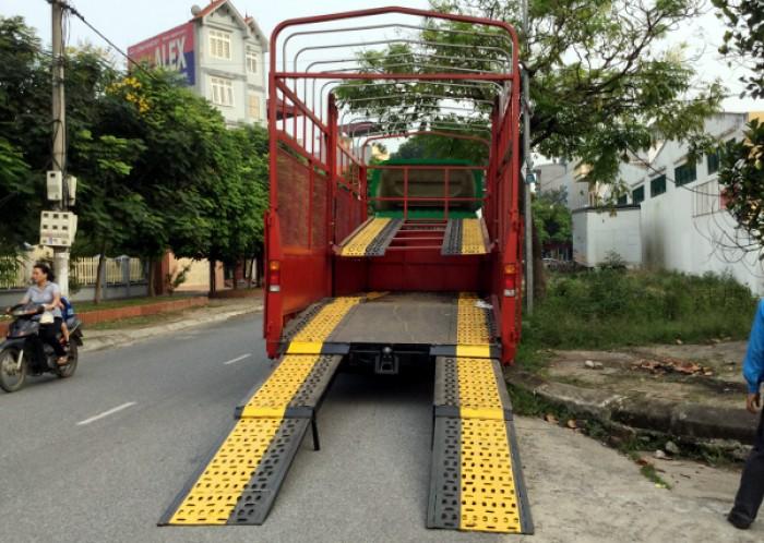 Xe tải Hino FC chuyên chở xe máy, xe ô tô 0