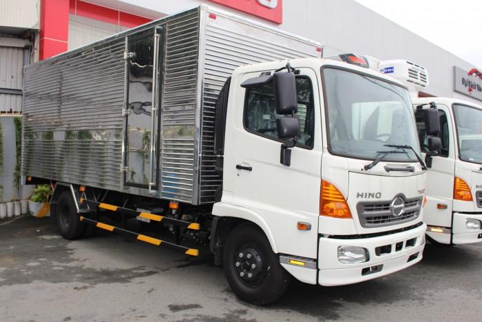 Hino FC 6.4 thùng kín inox, trả trước 100 triệu giao xe ngay - Gọi 0978015468 (MrGiang 24/24)