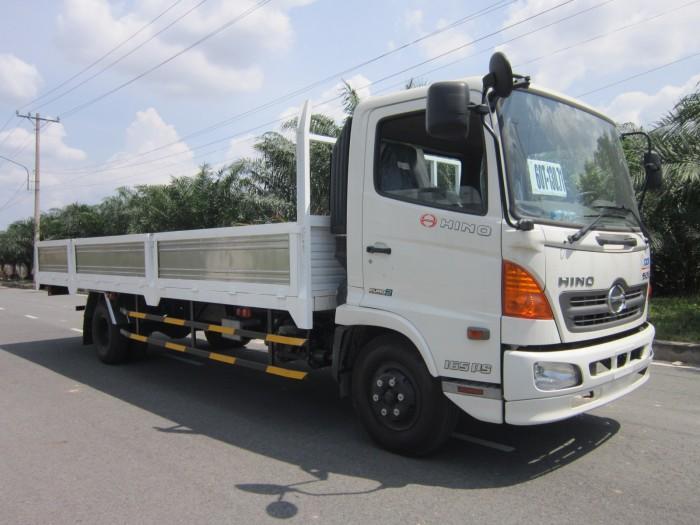 Giá xe tải Hino FC 5.4 tấn thùng lửng, trả trước 100 triệu giao xe ngay - Gọi 0978015468 (MrGiang 24/24)