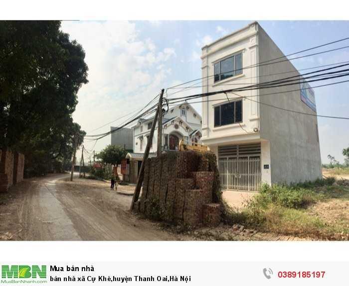 Bán nhà xã Cự Khê,huyện Thanh Oai,Hà Nội