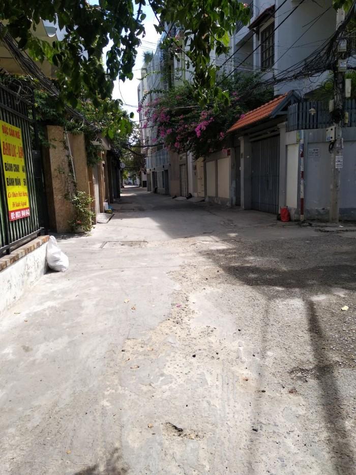 Nhà HXH 8m đường Huỳnh Văn Bánh, P. 14, Phú Nhuận, 3 lầu, 4.6x18m