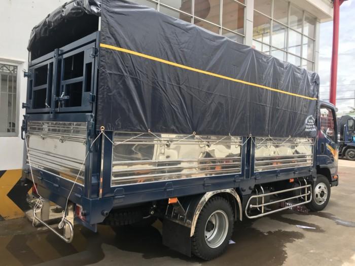 tera240L thùng mui bạt thùng dài 4m3 động cơ isuzu