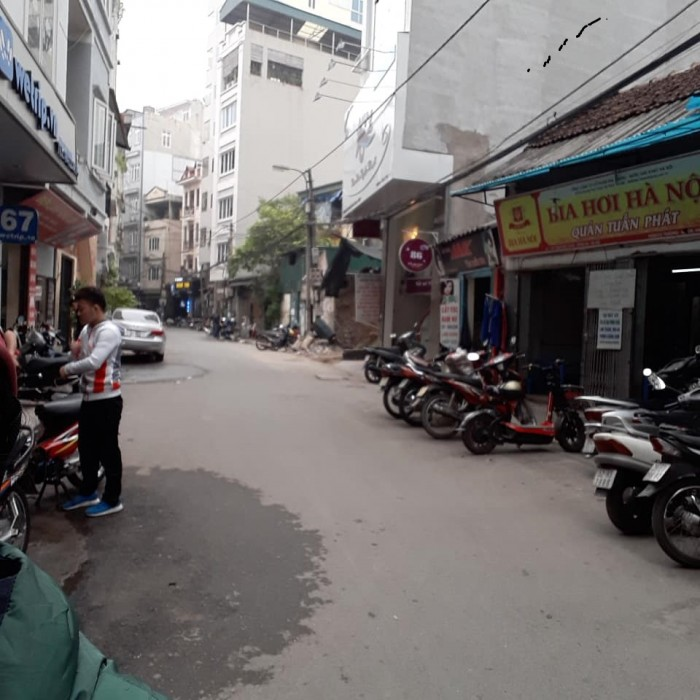 Bán nhà Trần Khát Chân, gara ô tô, kinh doanh, 55m2 x 5T, 7.85 tỷ