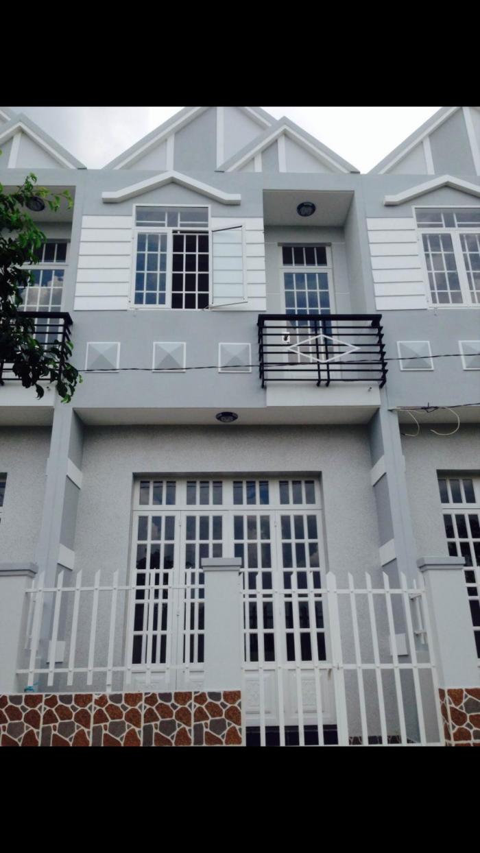 Nhà mới xây 1 trệt 1 lầu giáp Bình Chánh tại Ấp 3 Xã Tân Bửu Long An