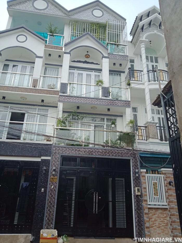Bán biệt thự phố 1806/42/14 Huỳnh Tấn Phát, Nhà Bè, Diện tích: 4m x 14m