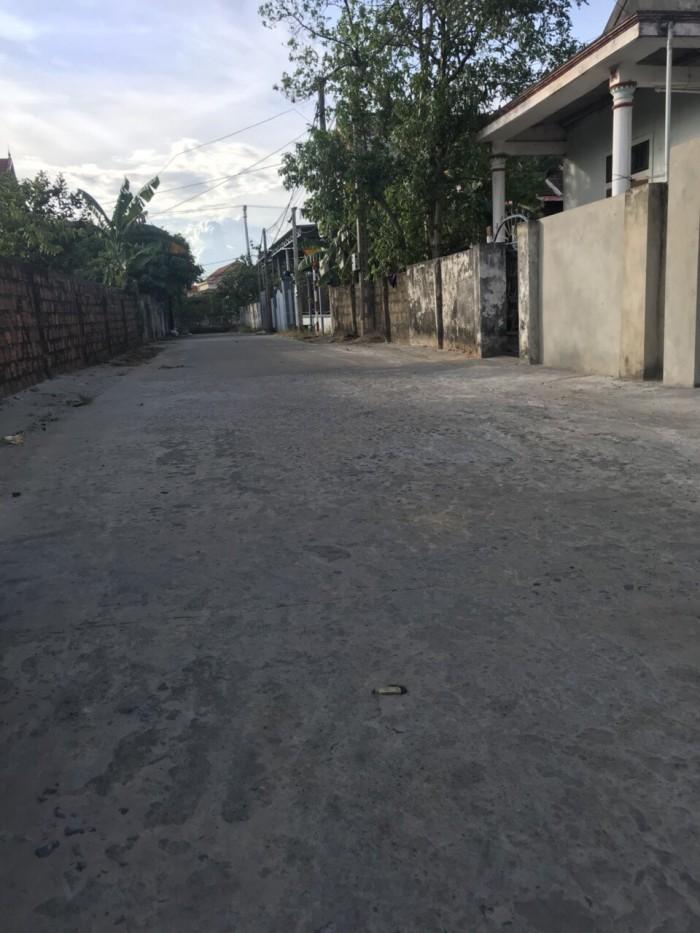 Chị Hiền cần bán gấp lô đất biển Quang Phú mặt tiền đường Nguyễn Hữu Hào