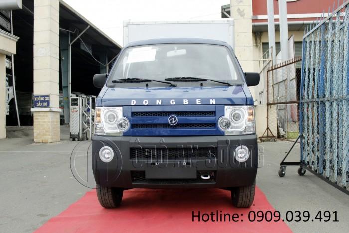 Xe tải trả góp Dongben 870kg_Trả trước 15 triệu nhận xe ngay