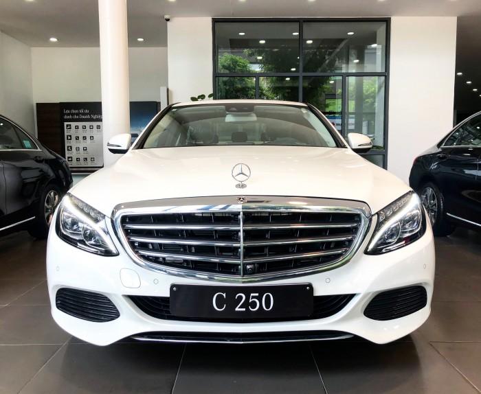 Chính chủ cần bán xe Mercedes C250 2018 màu Trắng đã qua sử dụng