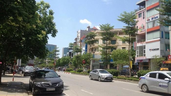 Cho thuê nhà phố Trung Kinh: diện tích 50m2, 5 tầng, mặt tiền 4m.